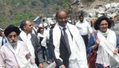 SAPDC Project Visit by SJVN's Chairman & Managing Director, Director (Finance), Director (Civil) & Director (Personnel)
